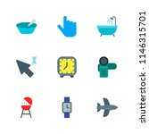 modern simple vector icon set.... | Shutterstock .eps vector #1146315701