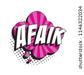 abbreviation afaik  as far as i ...   Shutterstock .eps vector #1146322034