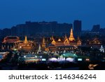 aerial view of the royal... | Shutterstock . vector #1146346244
