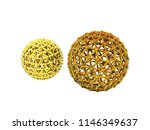 colorful wire balls of... | Shutterstock . vector #1146349637