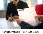recruitment contract and... | Shutterstock . vector #1146350321
