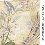 Floral Vintage Postcard's