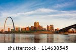Panoramic View Of St Louis Wit...