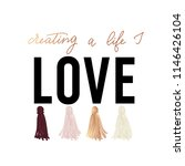 creating a life i love...   Shutterstock .eps vector #1146426104