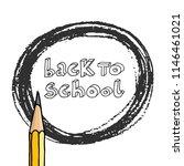 vector doodle back to school... | Shutterstock .eps vector #1146461021