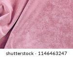 velvet texture pastel pink... | Shutterstock . vector #1146463247