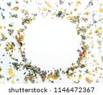 a festive layout with sparkles. | Shutterstock . vector #1146472367