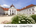 The Royal castle in Godollo, Hungary