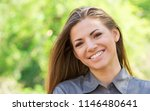 pretty young woman in casual... | Shutterstock . vector #1146480641