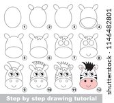 kid game to develop drawing... | Shutterstock .eps vector #1146482801