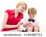 bank advertising. safety money... | Shutterstock . vector #1146485711