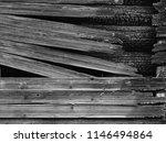 burnt wood grey background.... | Shutterstock . vector #1146494864