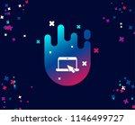 laptop computer icon. notebook...   Shutterstock .eps vector #1146499727