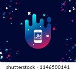 smartphone audit or statistics... | Shutterstock .eps vector #1146500141