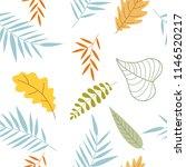 hand drawn of hello autumn... | Shutterstock .eps vector #1146520217