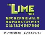 a lime   citrus fruit themed...   Shutterstock .eps vector #1146534767