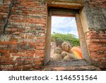 buddha statue in wat...   Shutterstock . vector #1146551564