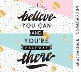 inspirational quote  motivation.... | Shutterstock .eps vector #1146567734