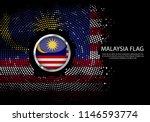 background halftone gradient...   Shutterstock .eps vector #1146593774