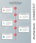 infographic template for...   Shutterstock .eps vector #1146601517