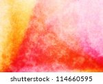 abstract red grungy watercolor