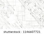 futuristic circuit digital... | Shutterstock . vector #1146607721