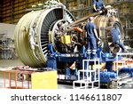 jet engine remove from aircraft ...   Shutterstock . vector #1146611807