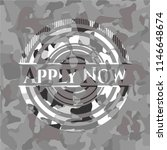 apply now on grey camouflage... | Shutterstock .eps vector #1146648674