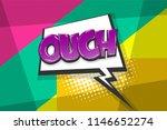 omg ouch oops comic text speech ...   Shutterstock .eps vector #1146652274