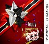 Happy Independence day of Trinidad & Tobago in Vector