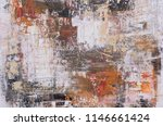 oil color paint abstract... | Shutterstock . vector #1146661424