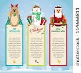christmas card   Shutterstock .eps vector #114666811