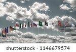 g20 summit flag silk waving... | Shutterstock . vector #1146679574