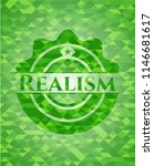 realism green emblem with... | Shutterstock .eps vector #1146681617