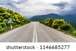 road in the greek mountains | Shutterstock . vector #1146685277