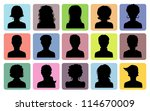 vector illustration of man and... | Shutterstock .eps vector #114670009