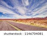 vintage toned picture of u.s.... | Shutterstock . vector #1146704081