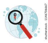 journalism around the world | Shutterstock .eps vector #1146706667
