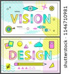 design poster creative business ... | Shutterstock .eps vector #1146710981