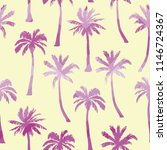 palm tree pattern. seamless... | Shutterstock .eps vector #1146724367