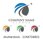 faster logo template vector... | Shutterstock .eps vector #1146726821