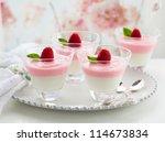 Raspberry Yogurt Dessert In...