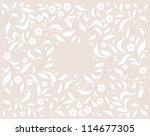 template frame design for... | Shutterstock .eps vector #114677305