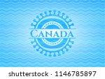 canada water concept badge... | Shutterstock .eps vector #1146785897