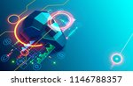 artificial intelligence analyze ... | Shutterstock .eps vector #1146788357