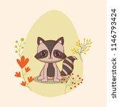 cute animals design   Shutterstock .eps vector #1146793424