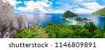 panorama of koh nangyuan island ... | Shutterstock . vector #1146809891