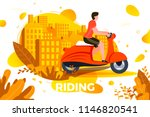 vector illustration   man... | Shutterstock .eps vector #1146820541