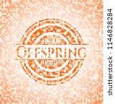 offspring abstract orange... | Shutterstock .eps vector #1146828284