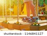 staggering steps for children...   Shutterstock . vector #1146841127